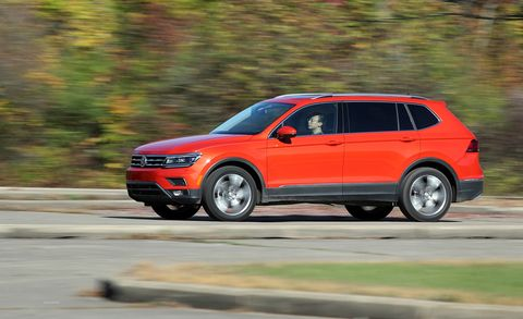 2018 Volkswagen Tiguan Fwd Test Review Car And Driver