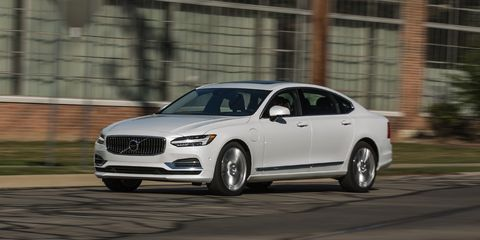 2018 Volvo S90 T8 AWD Plug-In Hybrid Test | Review | Car and
