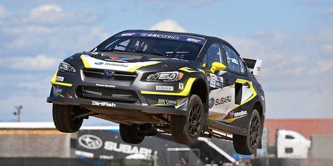 Behind The Wheel Of Subaru S Wrx Sti Global Rallycross Car