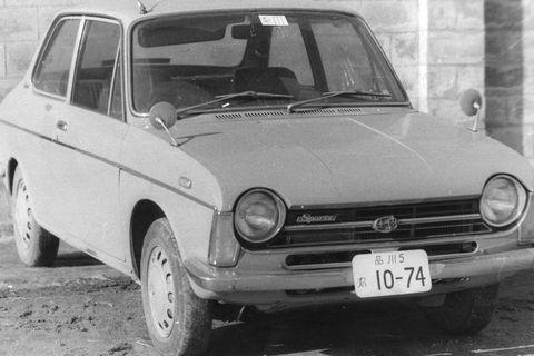 Land vehicle, Vehicle, Car, Classic car, Coupé, Sedan, Subcompact car,