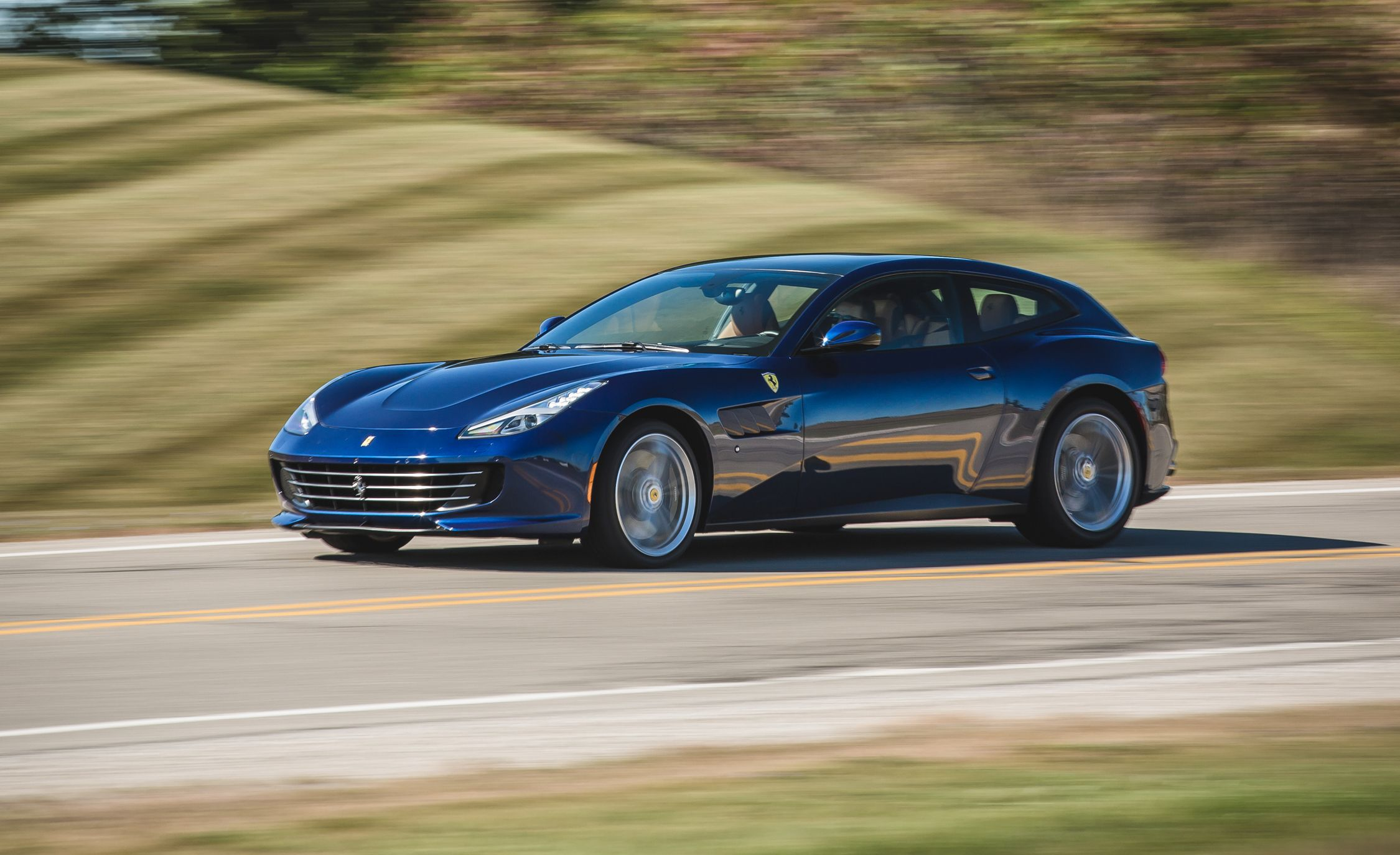 2017 Ferrari Gtc4lusso Face With A Volvo Booty Review Car And Driver