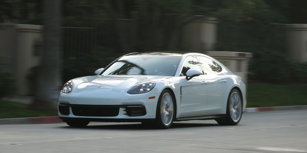 2017 Porsche Panamera 4s Test Review Car And Driver