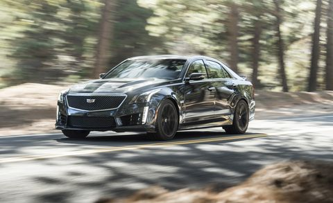 Cadillac Cts V Lease >> 2018 Cadillac Cts V Quick Test Review Car And Driver