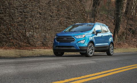 2020 Ford EcoSport: Specs, Equipment, Price >> 2018 Ford Ecosport First Drive Review Car And Driver