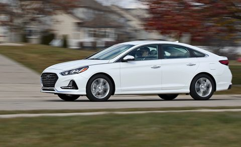 2018 Hyundai Sonata 2 4L Test | Review | Car and Driver