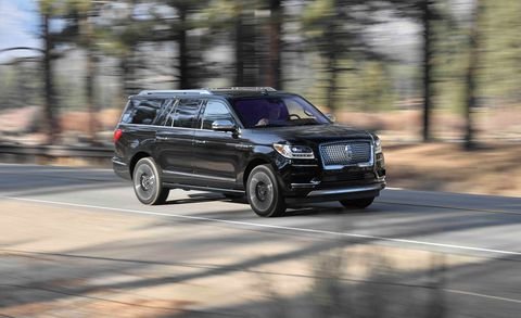 2018 Lincoln Navigator L Black Label: Review, Price >> 2018 Lincoln Navigator L Black Label Test Review Car And Driver