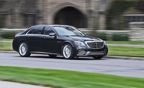 2018 Mercedes Amg S65 Sedan Test Review Car And Driver