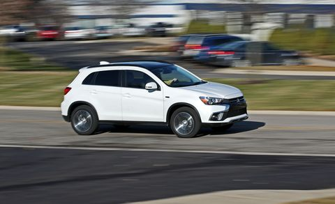 2018 Mitsubishi Outlander Sport 2 4l Awd Test Review Car And Driver