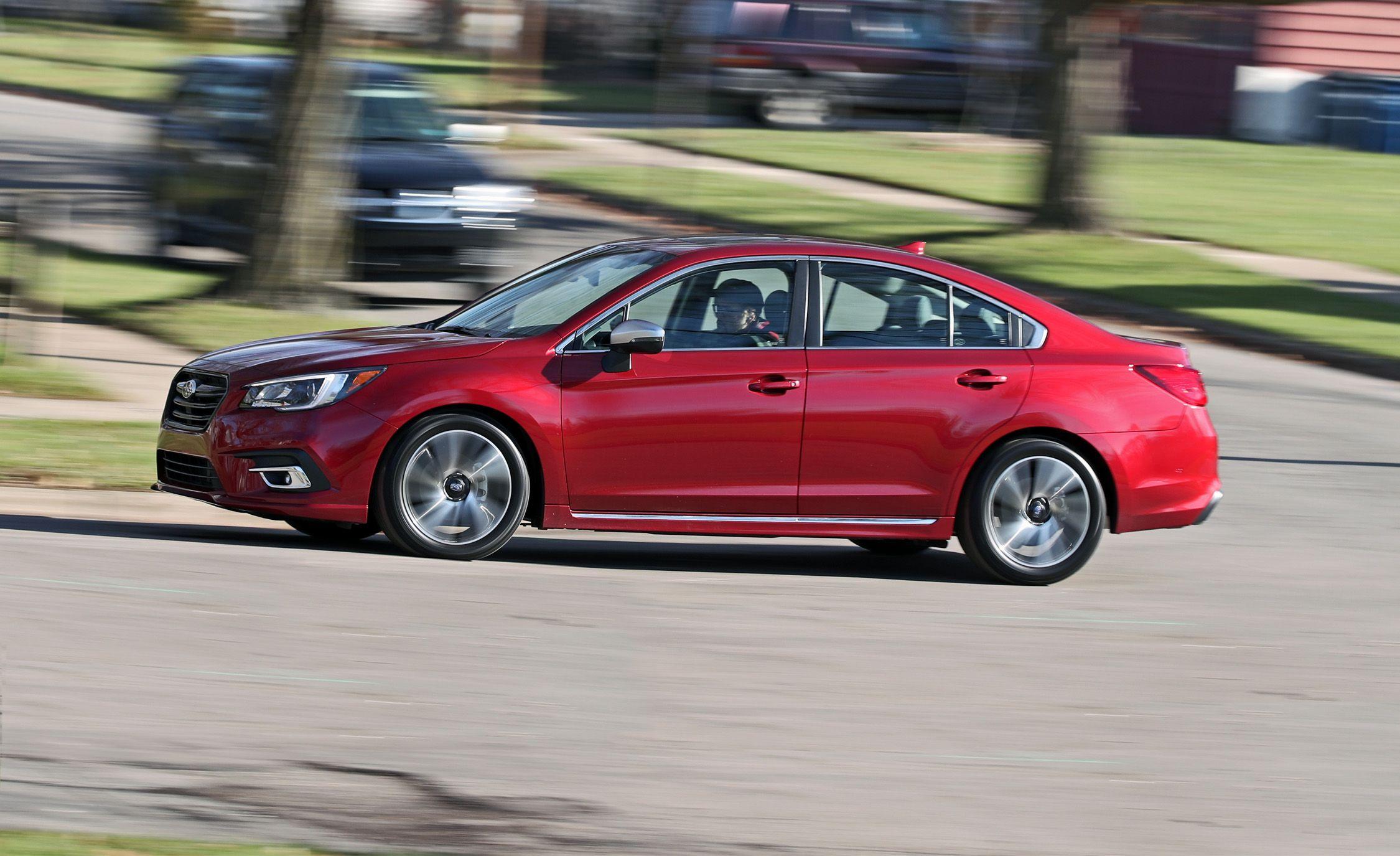 2018 Subaru Legacy 2 5l Test Review Car And Driver