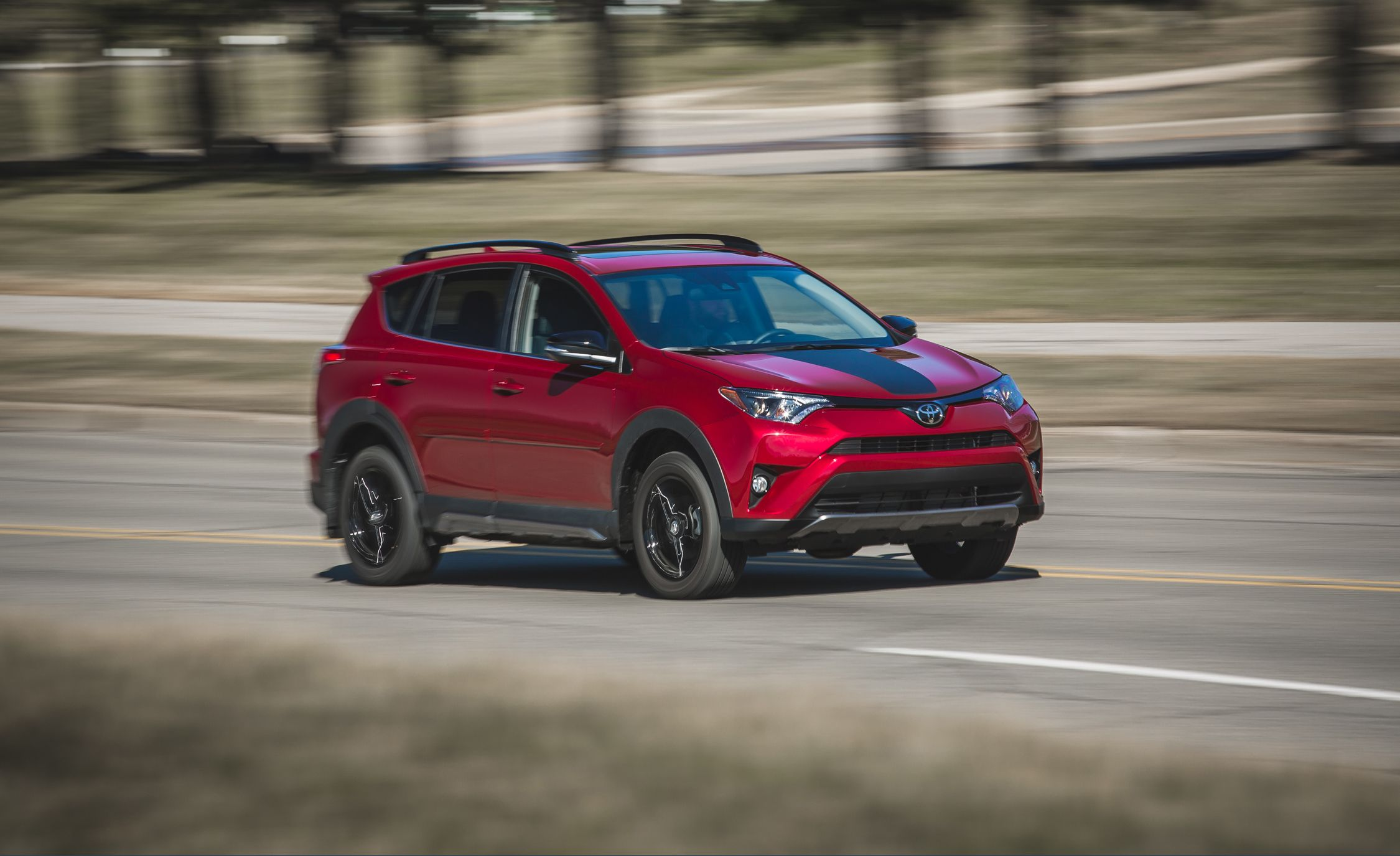 2018 toyota rav4 awd test review car and driver