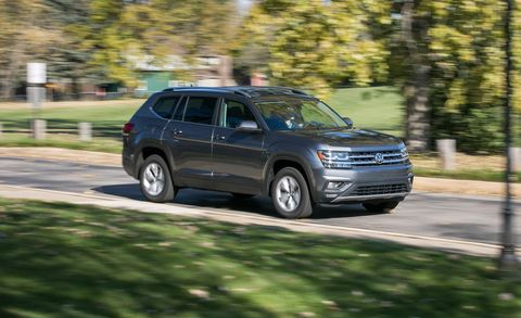 2018 Volkswagen Atlas 2 0T FWD Test | Review | Car and Driver