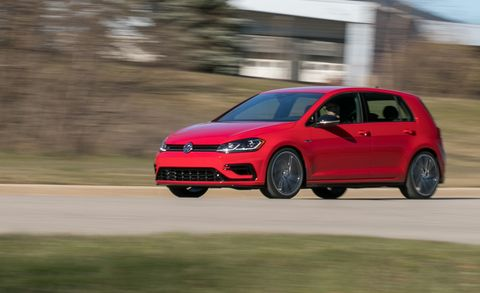 Golf R 0-60 >> 2018 Volkswagen Golf R Manual Test Review Car And Driver
