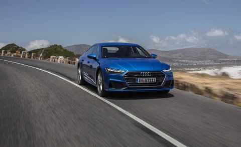 2019 Audi A7 First Drive Review Car And Driver