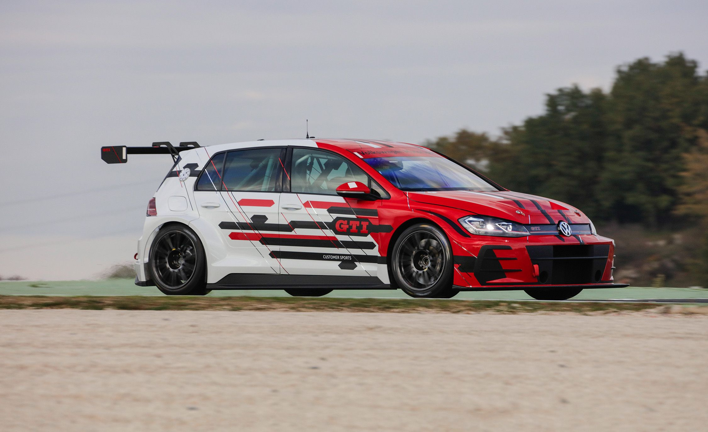 We Drive The Volkswagen Golf Gti Tcr Race Car Coolest Ever