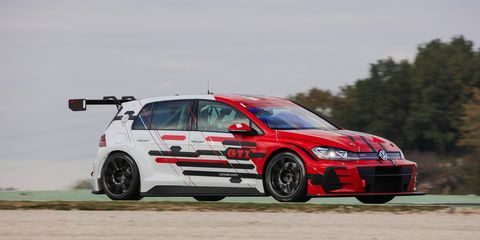 Volkswagen Golf GTI TCR Race Car First Drive   Review   Car