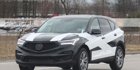 2018 Acura RDX Spy Shots And Latest News >> 2019 Acura Rdx Crossover Spied Nearly Undisguised Future