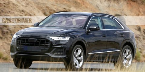2020 Audi Q8: News, SQ8, RS Q8, Price >> 2019 Audi Q8 Spied Basically Undisguised News Car And Driver