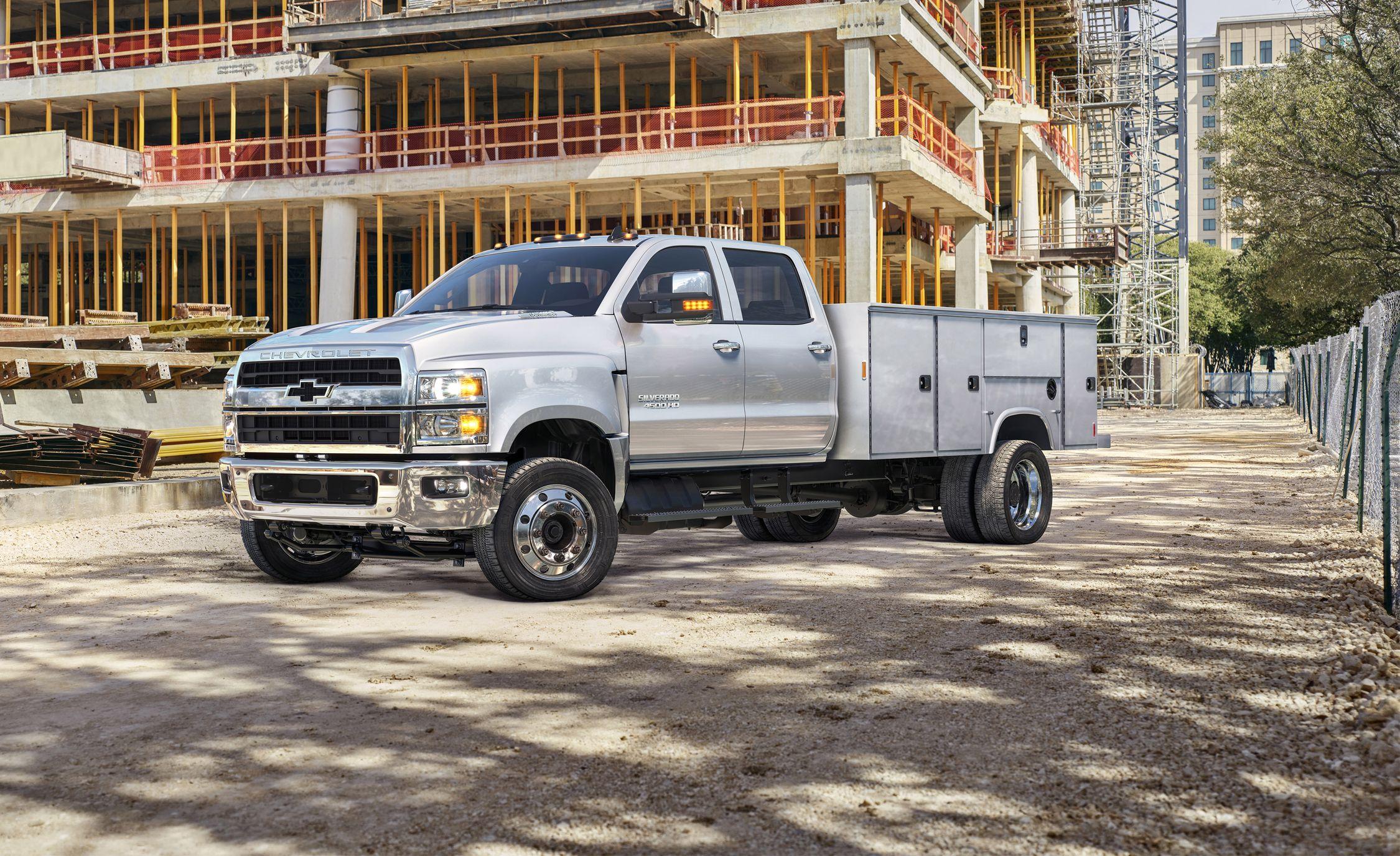 2019 Chevrolet Silverado 4500hd 5500hd 6500hd Chis Cab Flexin
