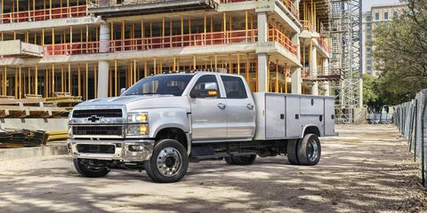 2019 Chevrolet Silverado 4500HD / 5500HD / 6500HD Official