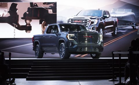 2019 Gmc Sierra Revealed Sel And A Carbon Fiber Bed