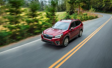 2019 Subaru Forester Pricing and Info – Redesigned AWD Crossover
