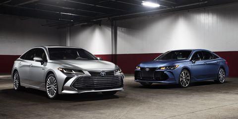 2019 Toyota Avalon A Snoozer Turns Snazzy