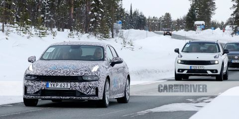 2020 Lynk Co 03 Sino Swedish Sedan Spied