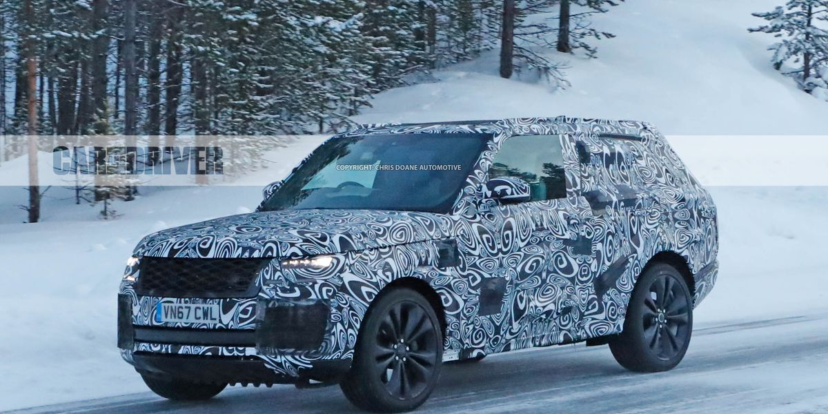 2020 Range Rover SV Coupe Spied: Fewer Doors, More ...