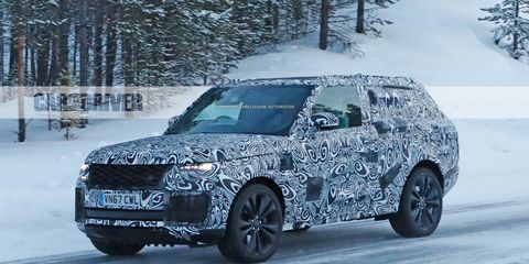Range Rover Vs Land Rover >> 2020 Range Rover SV Coupe Spied: Fewer Doors, More ...