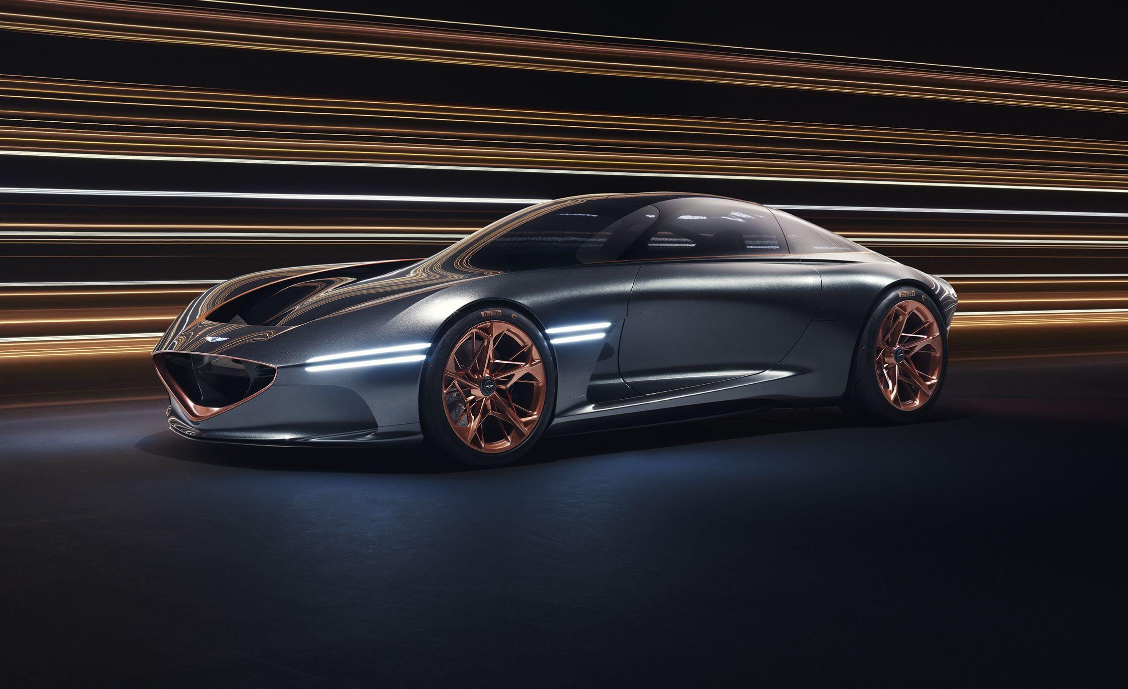 Genesis Essentia Concept High Tech Coupe Dreams