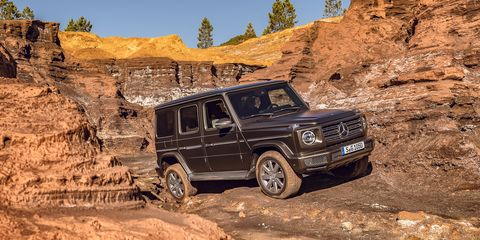 2019 Mercedes-Benz G-class Dissected | Feature | Car and Driver