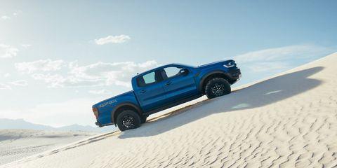 Land vehicle, Vehicle, Car, Sand, Pickup truck, Natural environment, Automotive tire, Truck, Landscape, Tire,