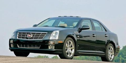 Cadillac STS vs  BMW 740iL vs  Lexus LS400