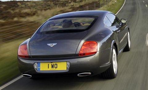 Mode of transport, Automotive design, Vehicle, Vehicle registration plate, Transport, Road, Infrastructure, Car, Automotive lighting, Bentley,