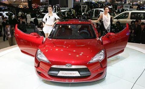 Automotive design, Vehicle, Land vehicle, Event, Car, Grille, Auto show, Hood, Automotive mirror, Exhibition,