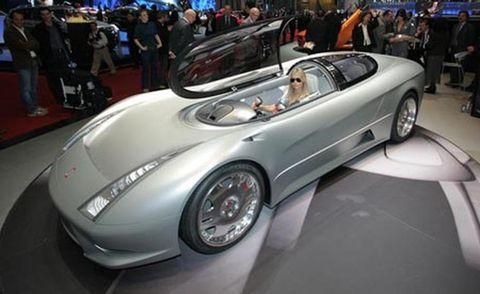 Tire, Wheel, Mode of transport, Automotive design, Vehicle, Car, Fender, Auto show, Automotive wheel system, Sports car,