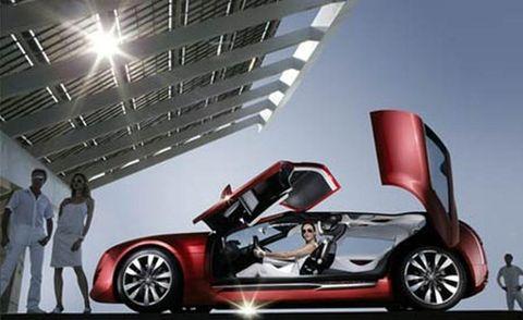 Tire, Wheel, Mode of transport, Automotive design, Alloy wheel, Vehicle, Automotive mirror, Vehicle door, Automotive wheel system, Concept car,