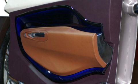 Motor vehicle, Brown, Automotive design, Trunk, Vehicle door, Gloss, Plastic, Paint, Concept car,
