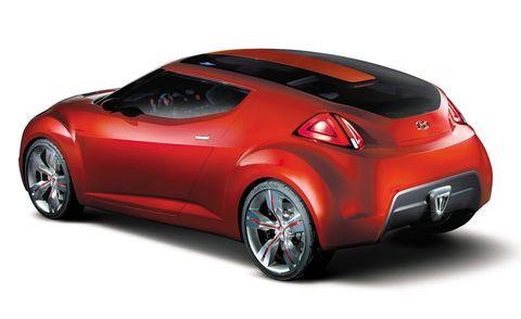 Automotive design, Vehicle, Automotive exterior, Red, Car, Fender, Automotive lighting, Concept car, Fixture, Vehicle door,