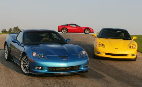 2009 chevrolet corvette zr1, z06, and z51
