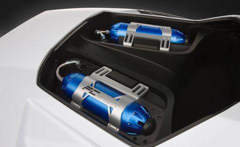 Blue, Electric blue, Automotive exterior, Machine, Azure, Cobalt blue, Plastic, Aqua, Gadget, Office equipment,