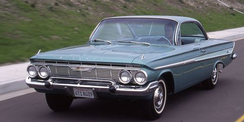 1961 Chevrolet Impala Ss409 Archived Test 8211 Feature 8211 Car And Driver