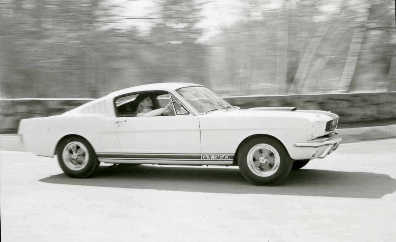 1965 ford mustang shelby gt350 instrumented test review car and driver