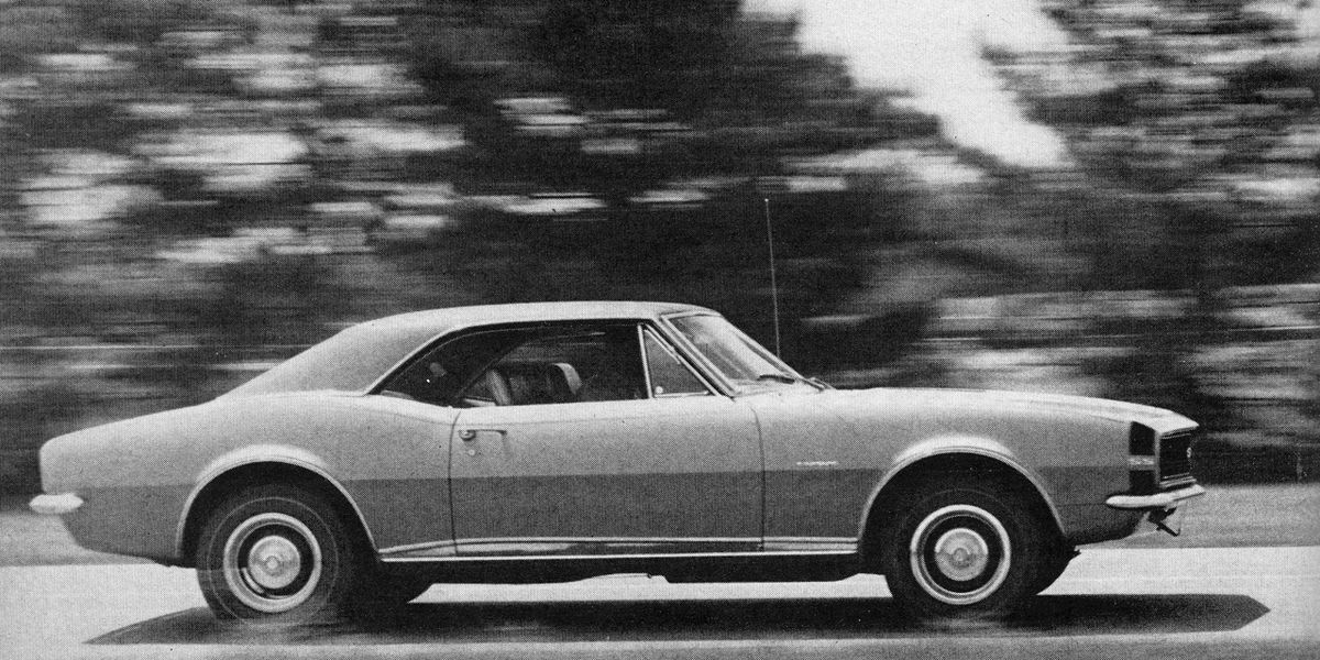 1967 Chevrolet Camaro SS 350 Archived Test &#8211