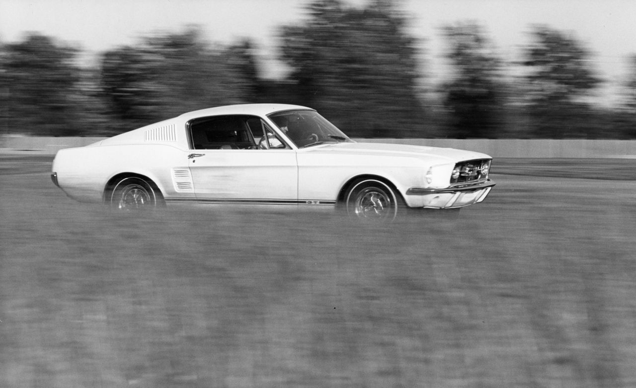 1967 ford mustang gt automatic review car and driver
