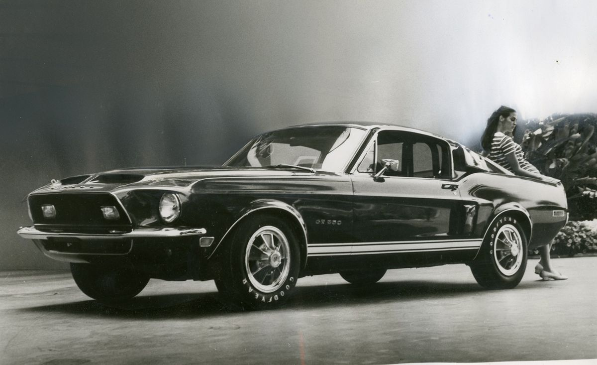 Tested 1967 Ford Mustang Shelby Gt500
