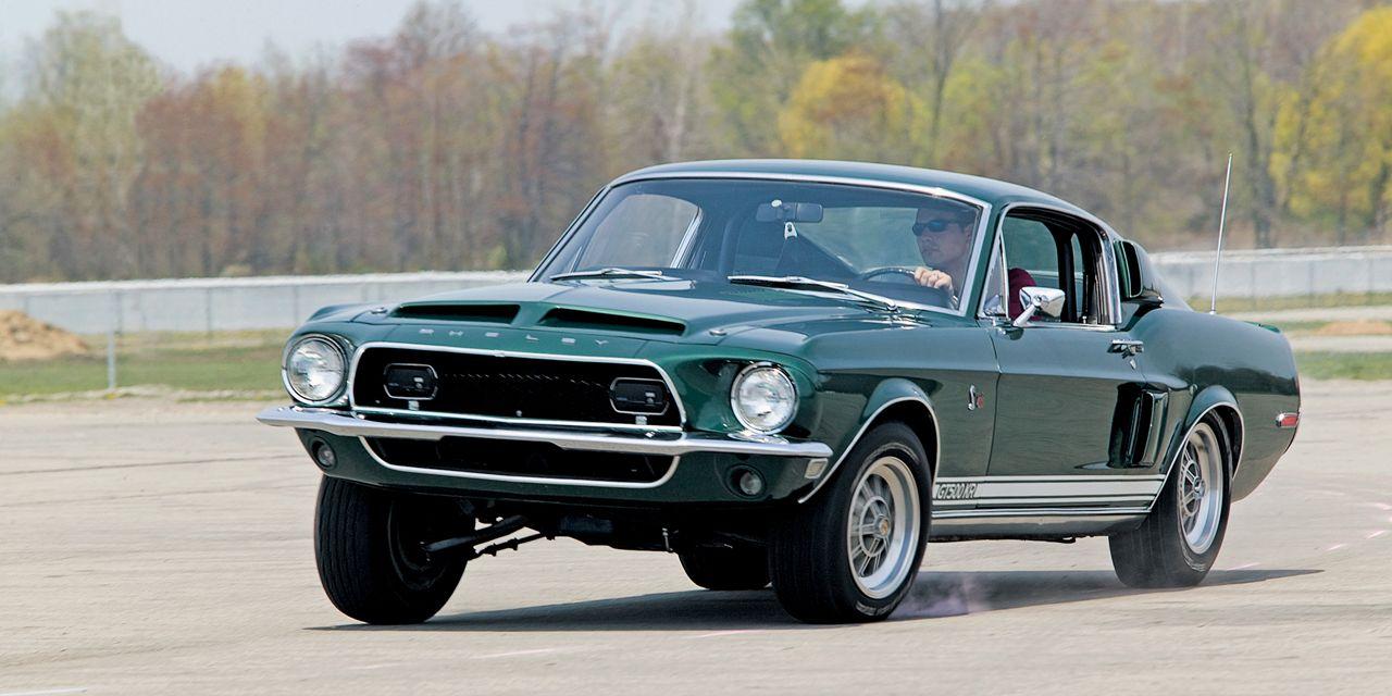 1968 Ford Mustang Shelby Gt500kr Vs 1968 Chevrolet Corvette 427