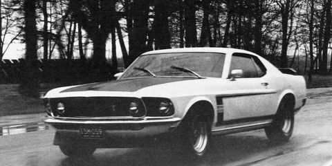 Ford Mustang Boss 302 >> 1969 Ford Mustang Boss 302 8211 Review 8211 Car And Driver