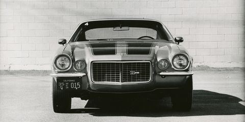 1970 Chevrolet Camaro Z/28 Road Test –