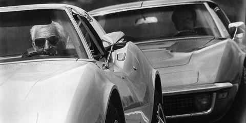 Automotive design, Vehicle, Hood, Glass, Car, Automotive exterior, Fender, Classic car, Performance car, Windshield,